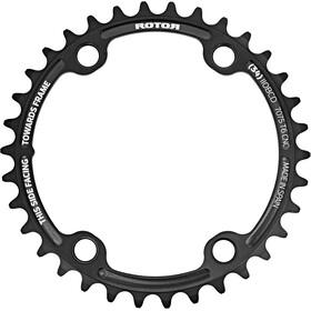 Rotor Aldhu Klinge 110x4 indvendig rund, black matte